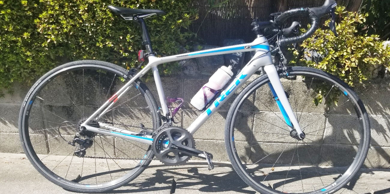 夏のサイクリング